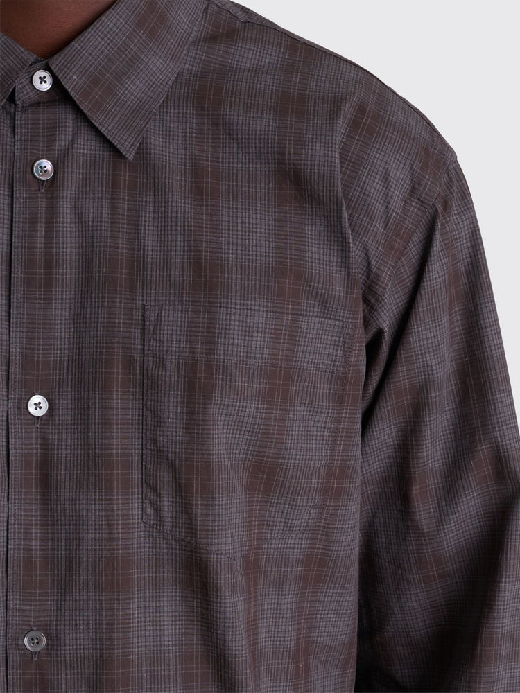 Classic Shirt Melange | Check - Leo Boutique