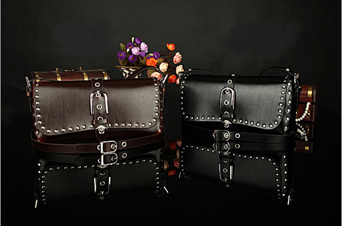 A2010 Classic Belt Buckle Decorted Genuine Leather Cross-body Shoulder Handbag New Arrivals - FFANY GIFTS - 12