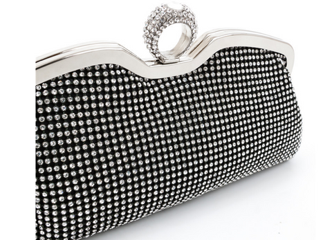 A4043 Classy Small Rhinestone Party Dinner Cross-body Evening Clutch Purse New Arrivals - FFANY GIFTS - 2