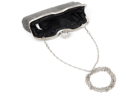 A4043 Classy Small Rhinestone Party Dinner Cross-body Evening Clutch Purse New Arrivals - FFANY GIFTS - 3
