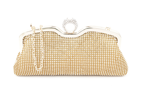 A4043 Classy Small Rhinestone Party Dinner Cross-body Evening Clutch Purse New Arrivals - FFANY GIFTS - 4