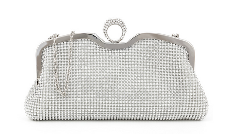A4043 Classy Small Rhinestone Party Dinner Cross-body Evening Clutch Purse New Arrivals - FFANY GIFTS - 7