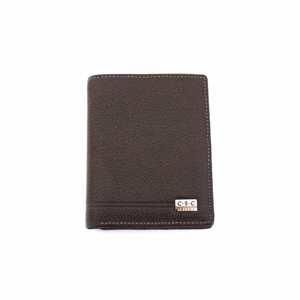 388 FFANY Exclusive Pebble Embossed Genuine Leather Bi-fold Wallet Cle –  FFANY GIFTS 340532842f171