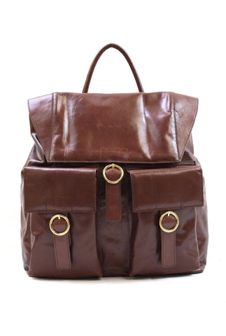 3672050 FFANY Exclusive Large Genunine Leather Travel Shopping Backpack - FFANY GIFTS - 4