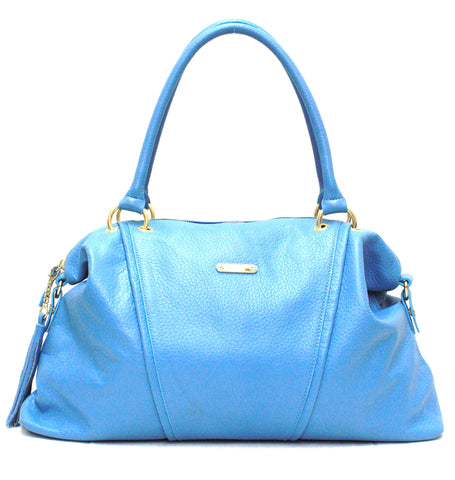 8200371 FFANY Exclusive Large Genuine Leather Cross-body Duffle Handbag SALE