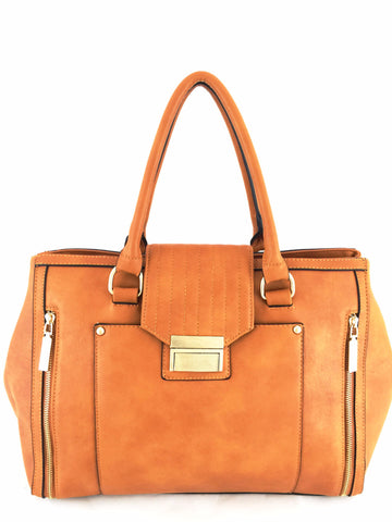 3186 FFANY Exclusive Premium Faux Leather Shoulder Shopping Tote Handbag Clearance