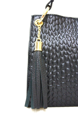 D16074 FFANY Signature Classy Alligator Embossed Genuine Leather Cross-body Shoulder Clutch Purse - FFANY GIFTS - 9