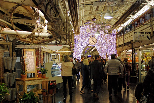 Terez visits Chelsea Market in NYC