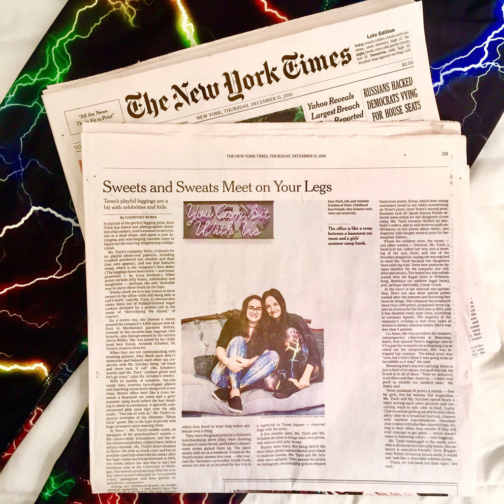 Terez New York Times feature