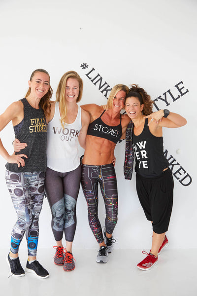Fitness Influencers at Link Together, Lead Together Event