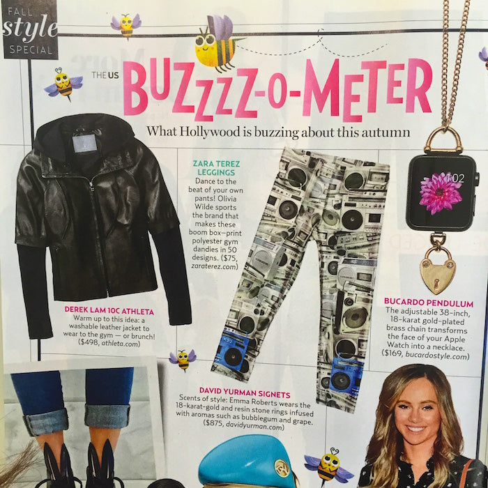 Zara Terez in US Weekly