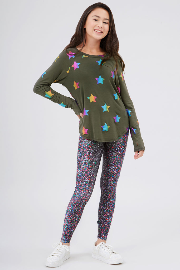 Girls Glitter Dreams Leggings