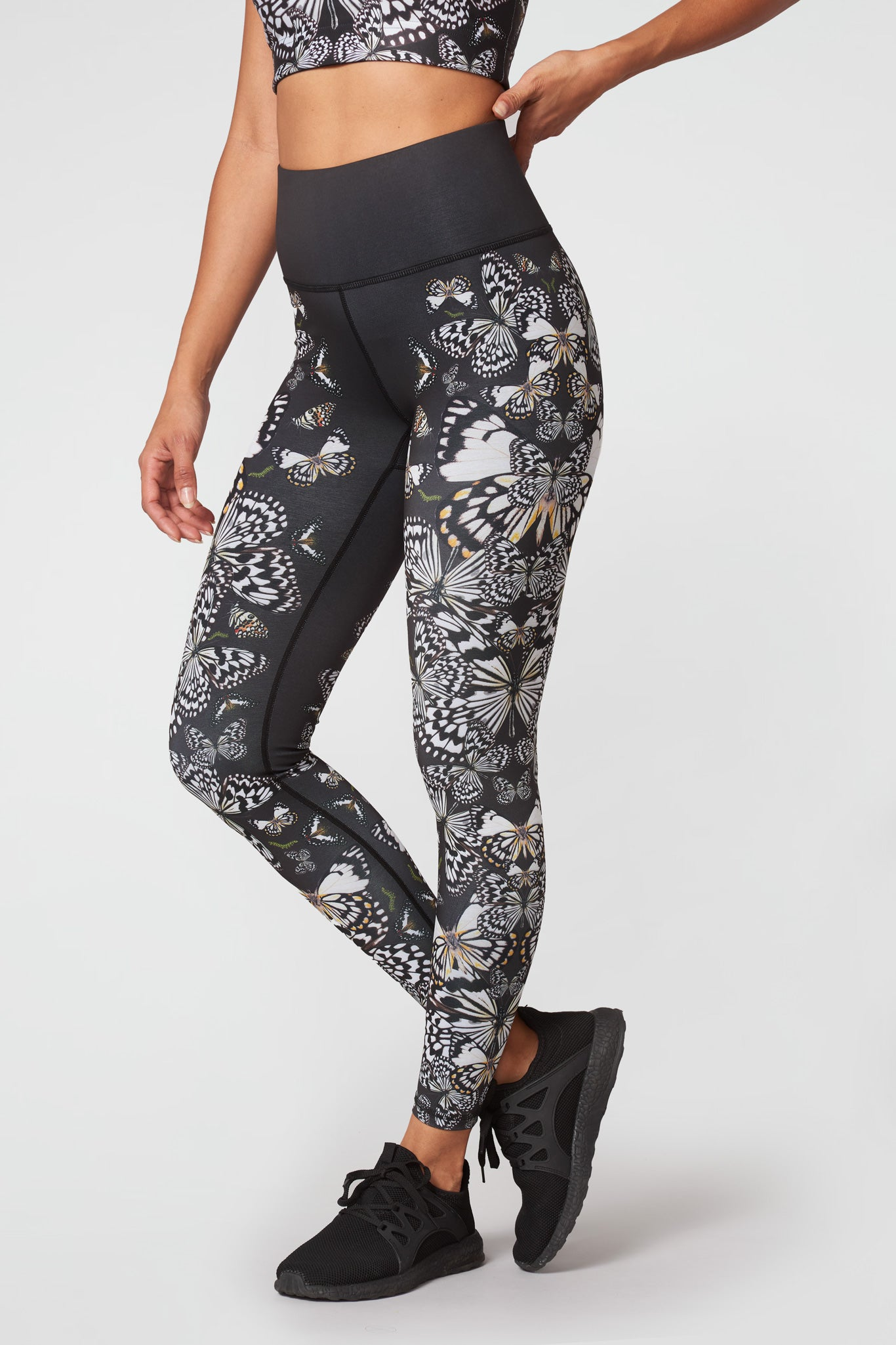 Kaleidofly Super-High Band Leggings
