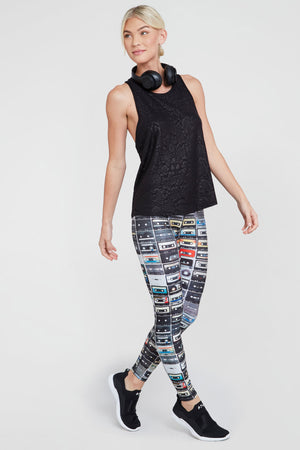 Mixtapes Slim Band Leggings