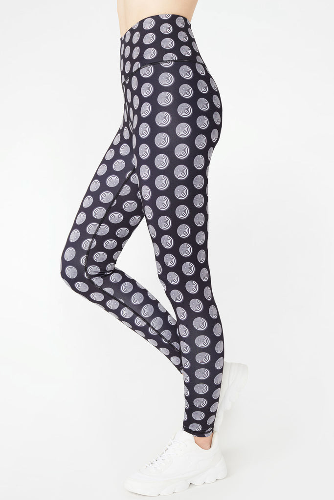 Dream Dots Super-High Band Leggings