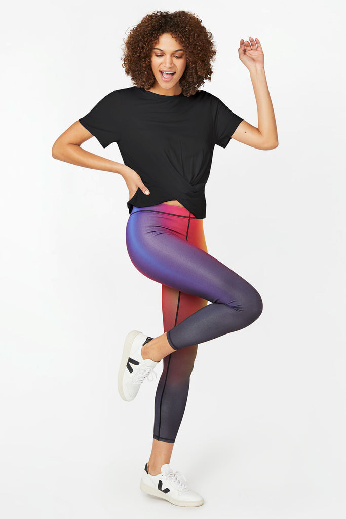 Vision Rainbow Slim Band Capris