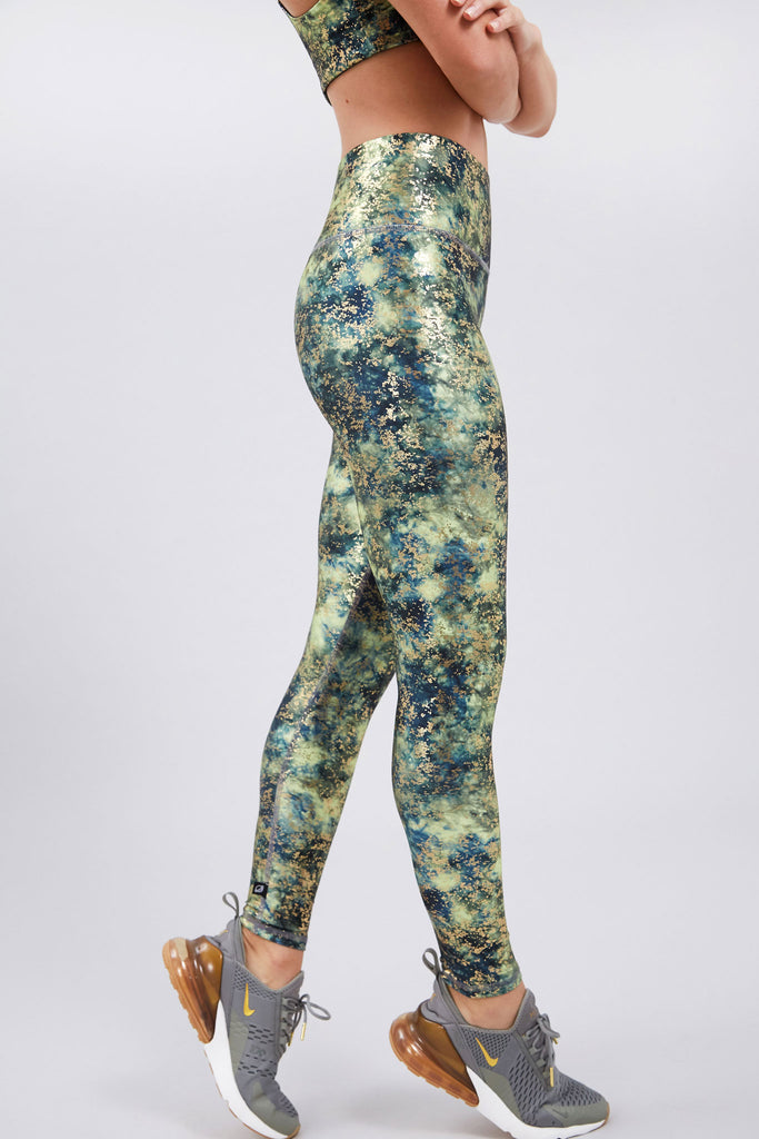 Canopy Haze Balayage Super-High Band Leggings