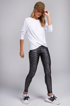 Show Your Stripes Tall Band Leggings
