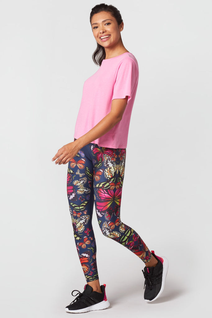 Kaleidofly Pop Super-High Band Leggings
