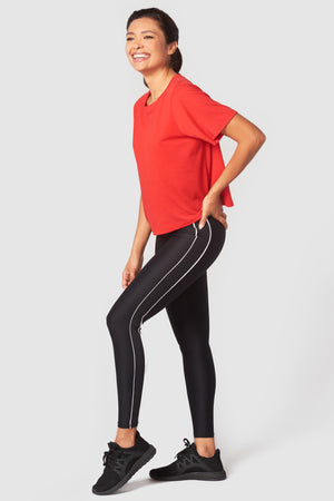 Glow Gear Piping Tall Band Leggings