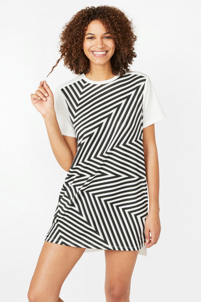 Starburst T-Shirt Dress