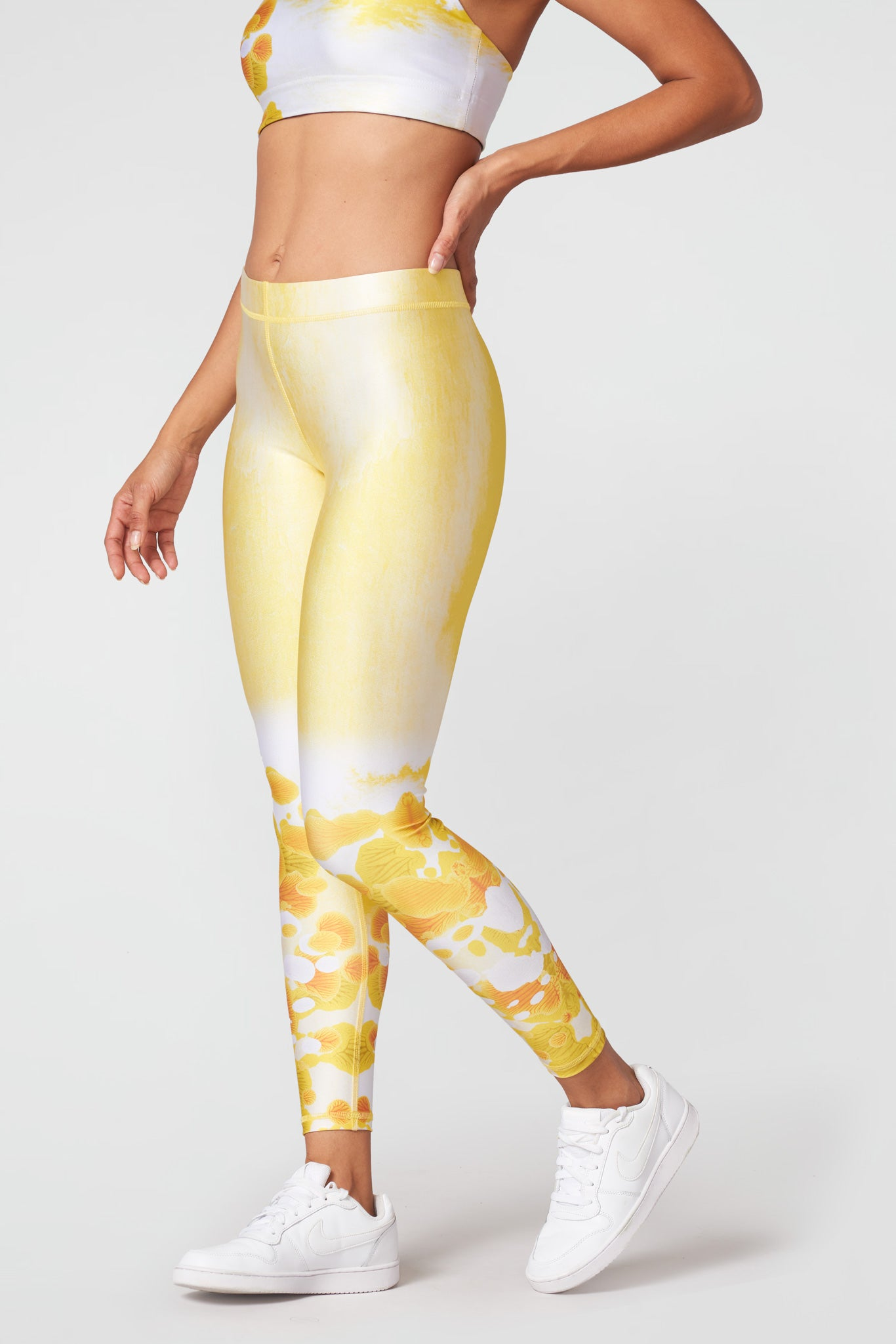 Sunshine Glow Slim Band Leggings
