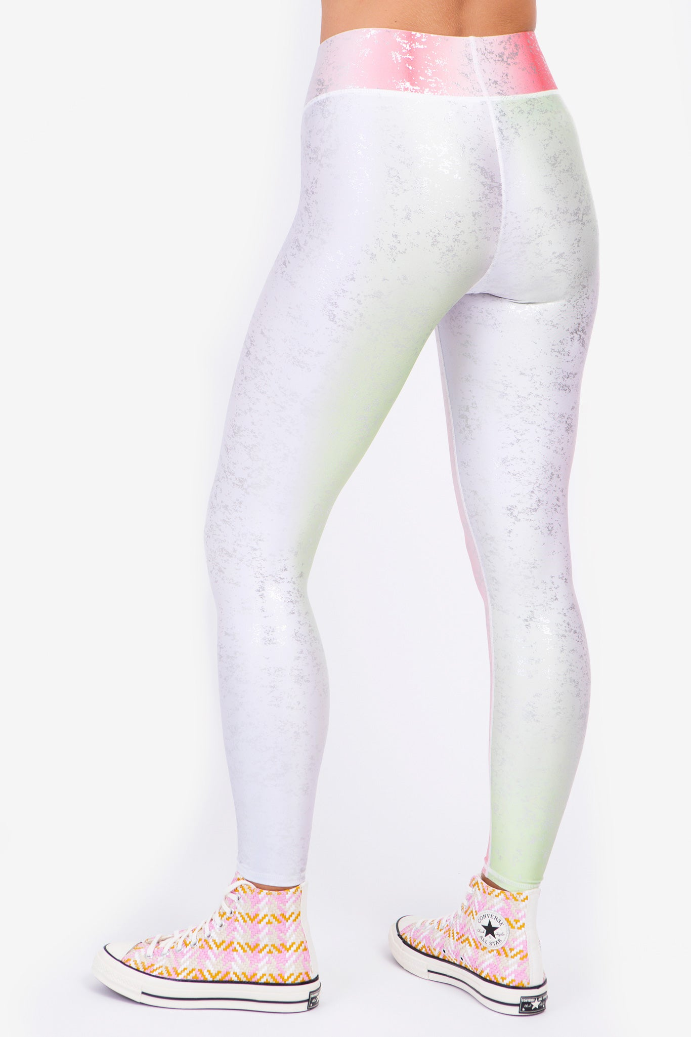 Snowcone Haze Balayage Tall Band Leggings