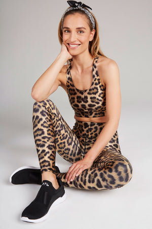 Leopard Goals High Rise Leggings by Terez