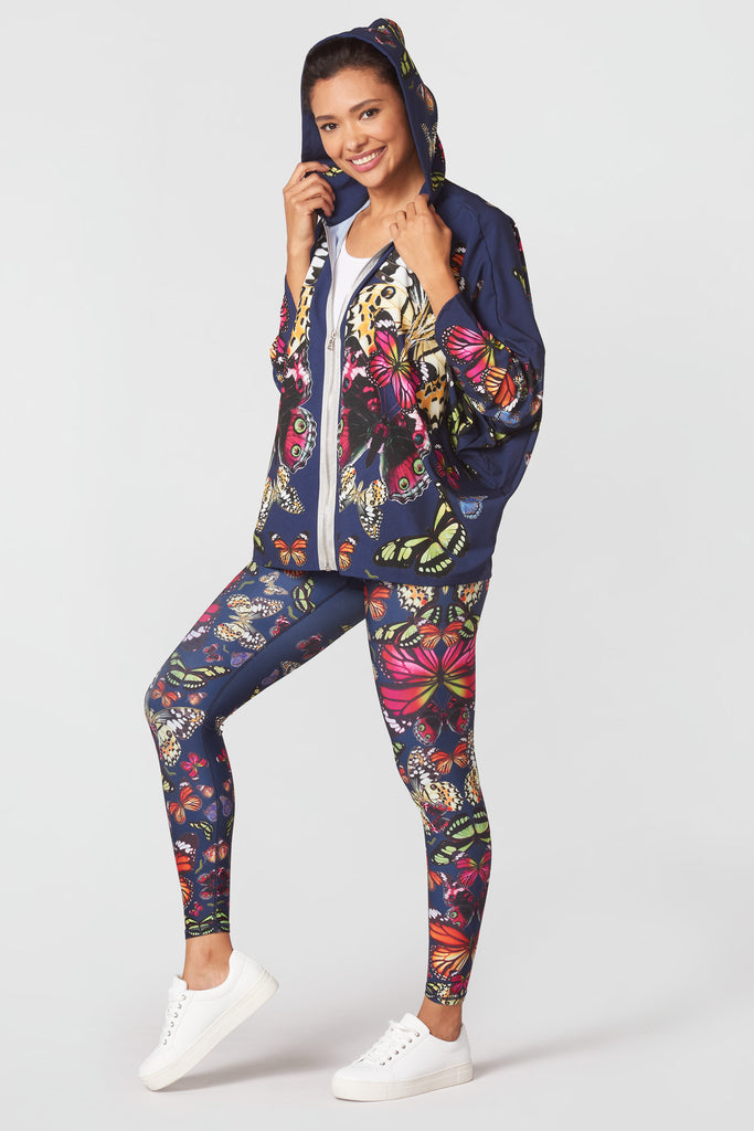 Kaleidofly Pop Dolman Sleeve Jacket