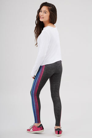 Girls Some Stripe of Way 2.0 Leggings