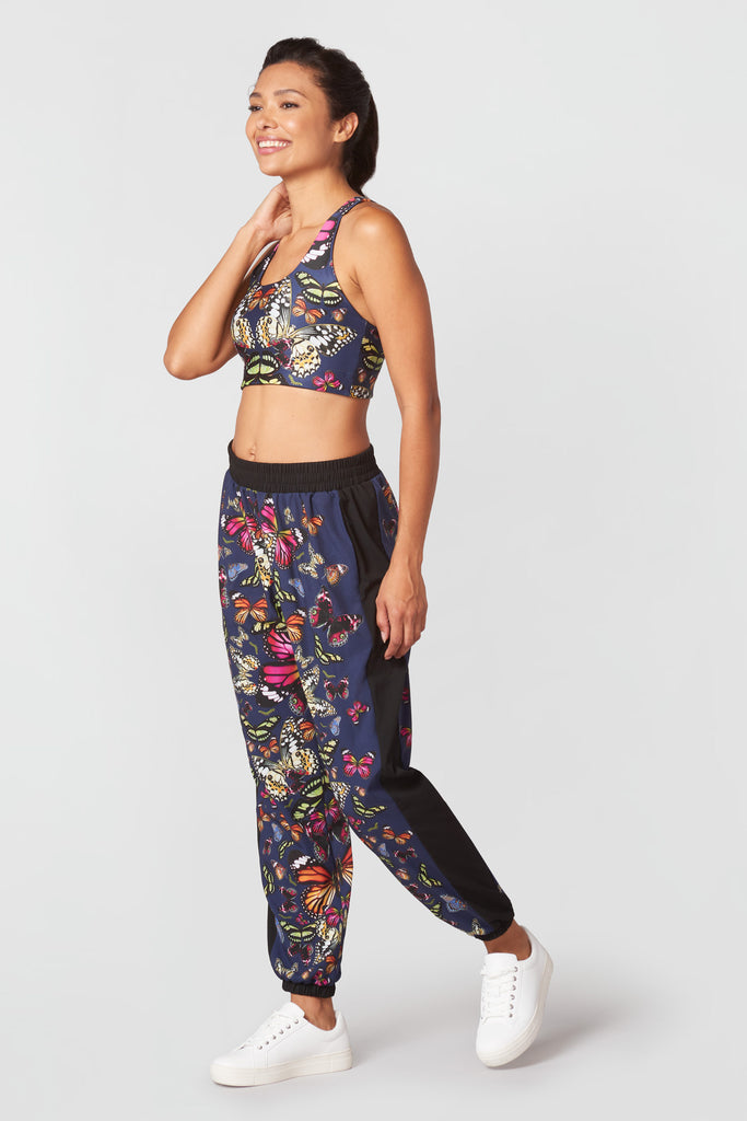 Kaleidofly Pop Reversible Sports Bra