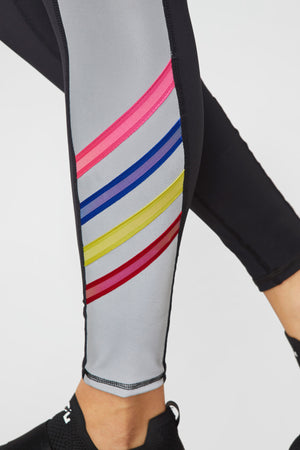 Neon Glow Gear Reflective Tall Band Leggings