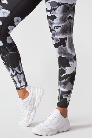 Shaded Inkblots Tall Band Leggings
