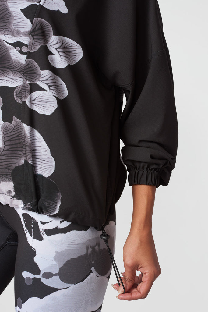 Shaded Inkblots Windbreaker