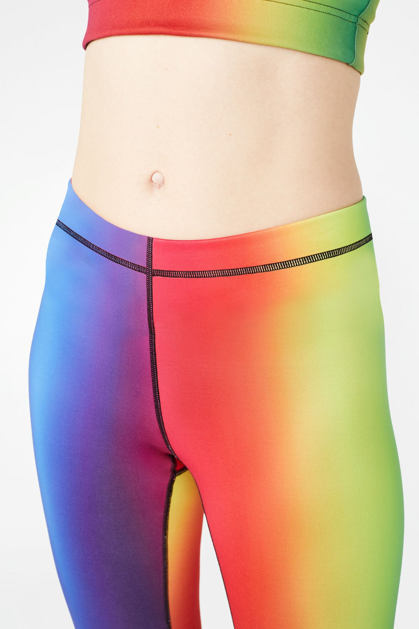 Vision Rainbow Slim Band Leggings