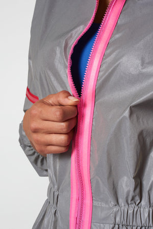 Neon Glow Gear Reflective Jacket