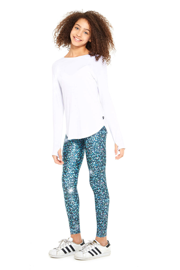 Girls Glitter Night Skies Leggings by Terez