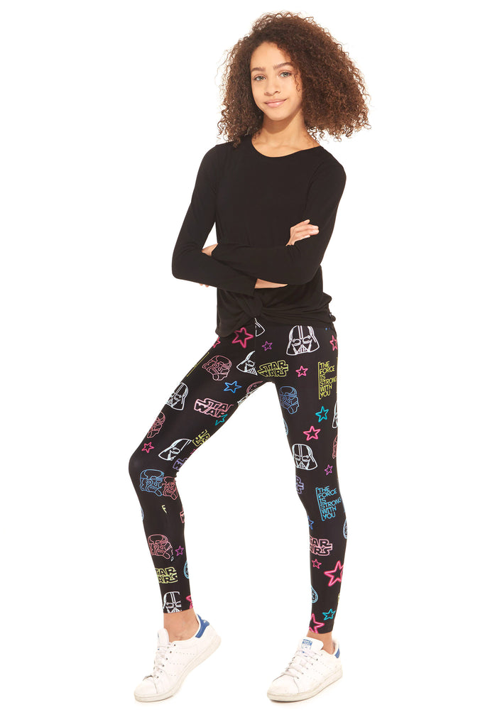Girls Star Wars Eons of Neons Leggings by Terez