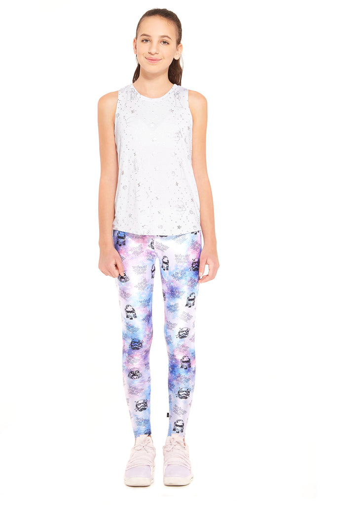 Girls Star Wars Galaxy Leggings by Terez