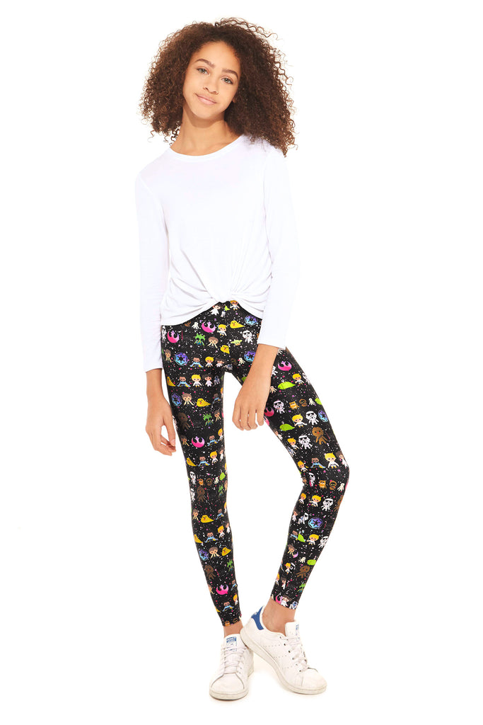 Girls Star Wars Gangs All Here Leggings by Terez