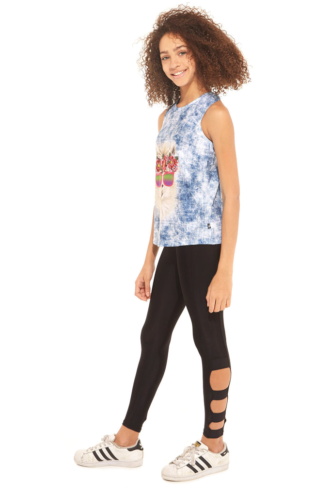 Girls Wide Strap Leggings by Terez