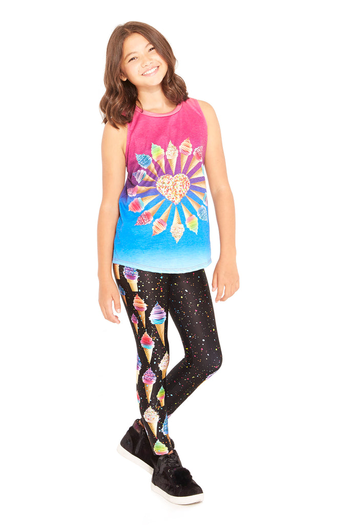 Girls YOYO FroYo Leggings by Terez