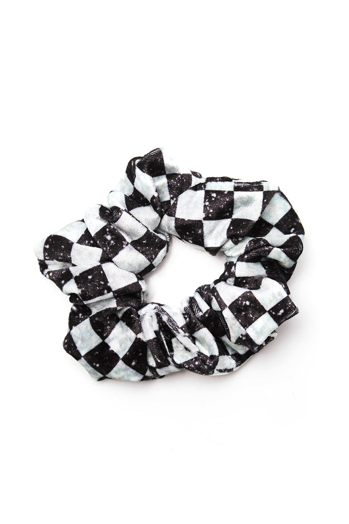 Glitter Check Scrunchie by Terez