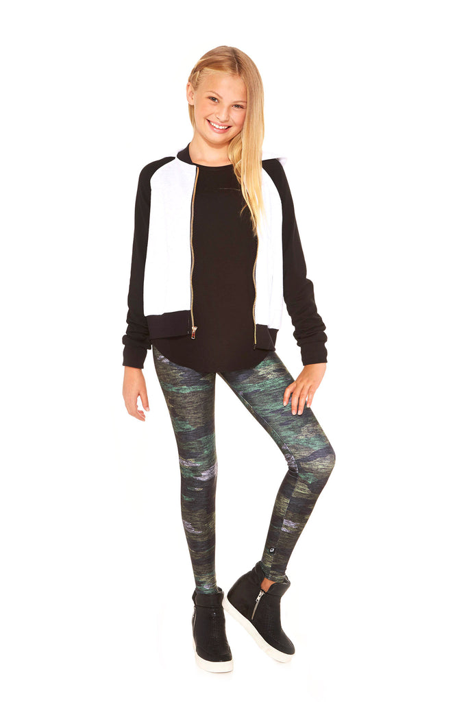 Girls Camo Leggings by Terez - 1
