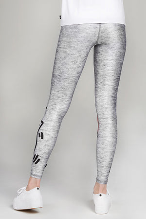 Keith Haring Uplifted Heart Tall Band Leggings