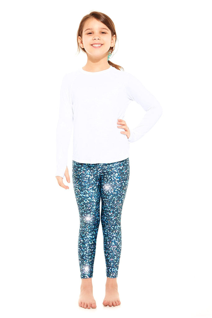 Kids Glitter Night Skies Leggings by Terez