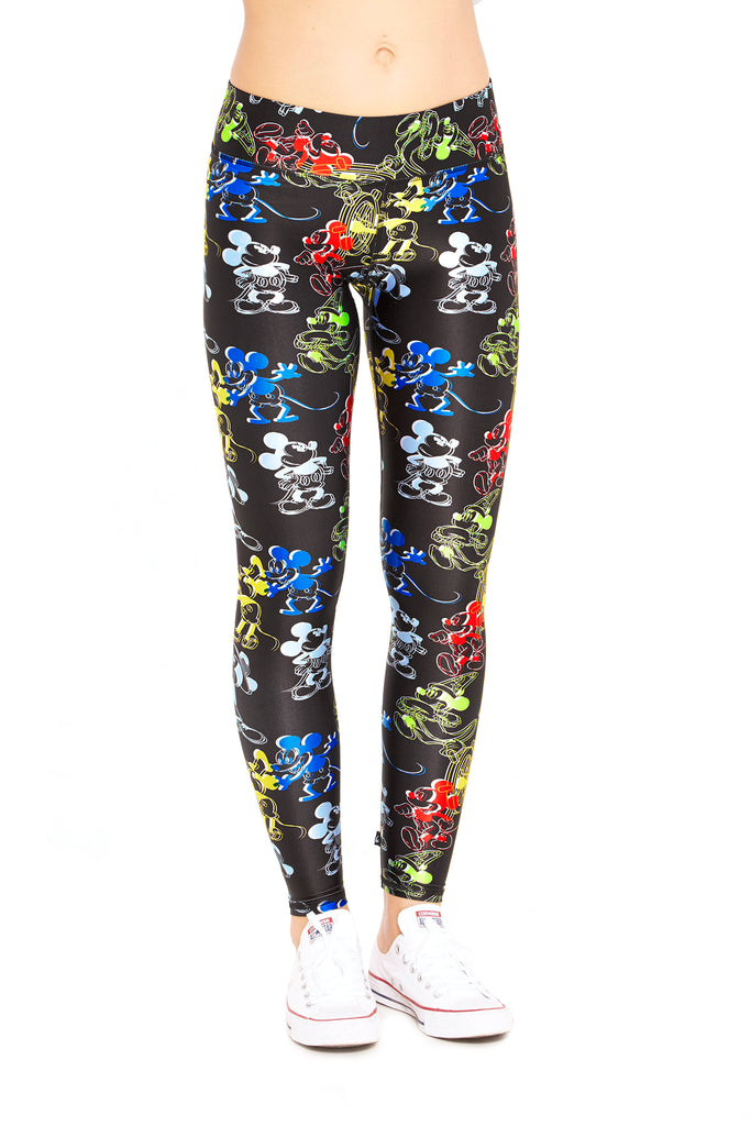 Mickey Mouse True Original Tall Band Leggings by Terez