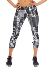 Womens Above NYC Performance Capri Leggings by Terez