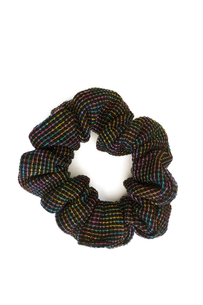 Cloud Nine Rainbow Scrunchie