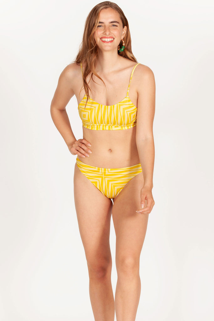 Lemonade Yellow Bikini Bottom